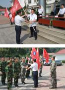 苏州技工召开新生军训动员大会暨开学典礼